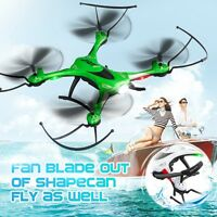 JJRC H31 Waterproof 2.4G 4CH 6-Axis Gyro Headless Mode RC Quadcopter Drone Green