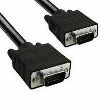 Cavo VGA da 1.8mt SVGA Maschio maschio Schermato  Video Cable Monitor TV PC TFT