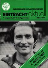 BL 79/80 Eintracht Braunschweig - Fortuna Düsseldorf, 27.10.1979, Uli Maslo