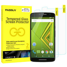2 Pack [Japan Glass] 0.26mm Tempered Glass Screen Protector Motorola Moto X Play