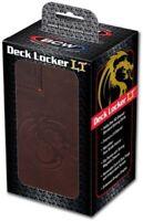 BCW - Deck Locker Dark Brown - MTG, CCG, TCG, LCG, Pokemon, Storage & Carry Box