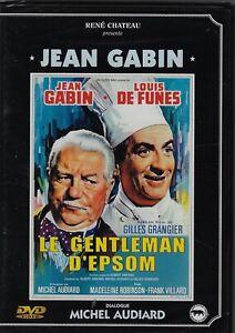 Le Gentleman D' Epsom Jean Gabin Louis De Funès DVD Rene Chateau Michel Audiard