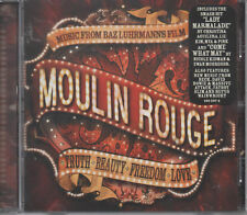 Moulin Rouge music from Carlo luhrmanns FILM CD NUOVO LADY marmellata come what may