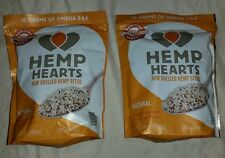 BNIP MANITOBA HARVEST HEMP HEARTS 56 OZ  RAW SHELLED HEMP SEEDS NON GMO VEGAN