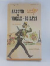 Around the World in 80 Days by Jules Verne Paperback 1963 CL24 Airmont Classic