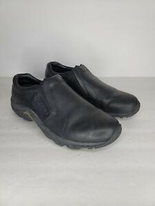 Merrell Mens Jungle Closed Toe Slip On Shoes, Midnight, Size 8.5