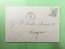 DR WHO 1873 ITALY NOVI FANCY CANCEL F/L TO TORINO  g38283