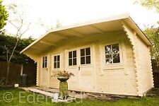 A 6 by 3 meter cabin, with side mower/ tool store, we can make any size,