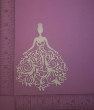 16  Princess - Cardstock Die Cuts - Card Toppers - Embellishments - Scrapbook