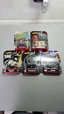 🔥🏁Hot Wheels Marvel Real Riders 50th Anniversary **Complete Set of 5**