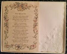 Mother-In-Law Hankie Handkerchief Wedding Poem Gift Keepsake Favor Bride BH103