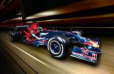 Encadrée Imprimer-Red Bull F1 Voiture de course (Photo Poster Porsche Audi FERRARI ASTON)