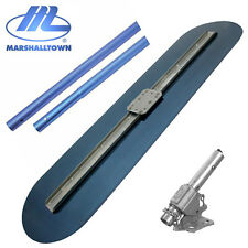 """MARSHALLTOWN BIG BLUE GLIDER MBG48 4FT CONCRETE BULL FLOAT KIT - 4 X 72"""" HANDLES"""