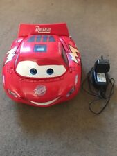 Disney Lightning Mcqueen Music Cd Player Radio