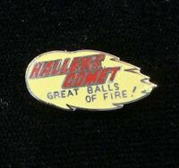1980's Vintage Mafco Halley's Comet hat push pin, lapel