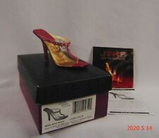 Just The Right Shoe Jtrs Glitz and Glam #25619 Event Shoe 2006 Nib Coa