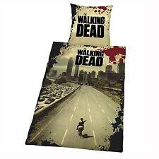 THE WALKING DEAD DUVET COVER SET NEW OFFICIAL ZOMBIE APOCALYPSE