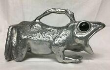 Vtg Arthur Court Cast Aluminum Frog Pitcher