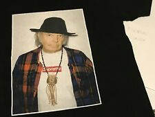 Supreme Neil Young T Shirt BLACK LARGE Great condition SS15
