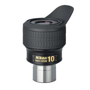 """Nikon 1.25"""" NAV-SW Eyepiece with 72° AFOV - 10mm # NAV-10SW"""