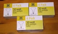 12x 30W diffused R39 reflector bulbs (SES/E14, 39mm diam) Incandescent lava lamp