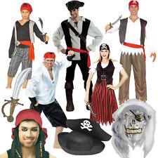 Mottoparty Piratenfest Seeräuber Kostüm Maske Hut Perücke Kinder Herren Damen