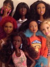 Barbie Doll -African American Lot- S.I.S. GRACE-Fashionistas- + Celebrity Dolls