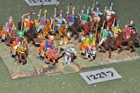 25mm dark ages / chinese - ancient cavalry 15 cavalry - cav (12297)