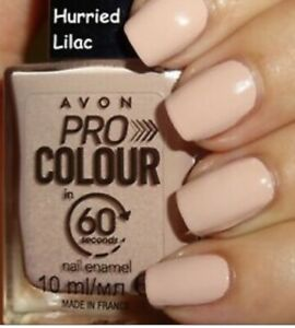 PRO COLOUR in 60 Seconds Nail Enamel In Hurried Lilac