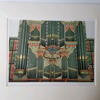 Pat Jesaitis Signed Numbered Photography Print St. Nicholas Church Organ Matted