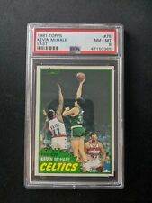 *** 1981 Topps #75 KEVIN MCHALE PSA 8 NEAR MINT RC ROOKIE ***