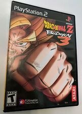 Dragon Ball Z: Budokai 3 (Sony Playstation 2, 2004) PS2 Complete CIB - Tested
