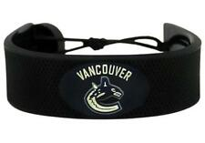Vancouver Canucks NHL Classic Hockey Puck Rubber Bracelet
