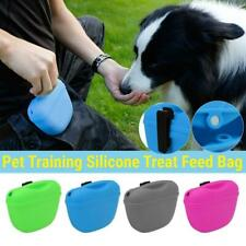 Pet Training Treat Bags Pouch Silicone With Clip Waist Pack Feed Dog Hot Saling