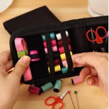 Mini Portable Sewing Kit Thread Scissor Tape Pins Thimble Needle Profession YO