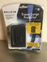 Belkin Travel Surge Protector 2 Socket Folding Hidden Plug Unopened F9H220-TVL