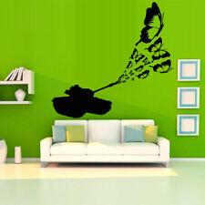 Wall Decal Tank Butterfly Insect Shot Machine Cars Bedroom M1208