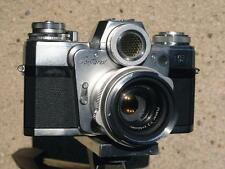 Photo.  Close-up Zeiss Ikon CONTAREX Camera