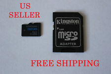 New 8GB 16GB 32GB MicroSD SDHC Micro SD TF Memory Card with SD Adapter US Seller