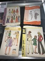 Vintage Dress Sewing Pattern Lot McCall's