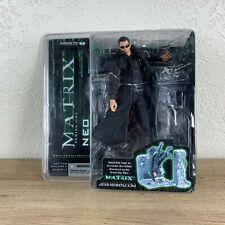 The Matrix Series One Neo Figure Lobby Scene McFarlane Toys 2003 Nib