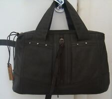Beautiful Genuine Ladies Hidesign Small Tote Leather Handbag. Dark Brown