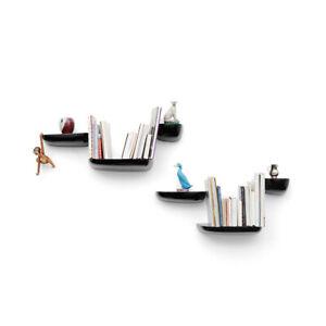 VITRA Black Corniche Shelf - Large Used