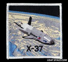 VINTAGE UNCOMMON NASA BOEING X-37 OTV USAF DOD SPACE PLANE PATCH
