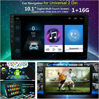 """10.1"""" 2DIN Touch Android Car GPS Navi Stereo Radio MP5 Player FM Mirror Link OBD"""