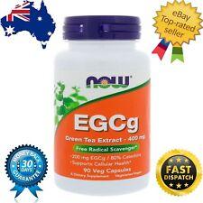 Now Foods, EGCg, Green Tea Extract, 400 mg, 90 Veg Capsules Now Foods, EGCg