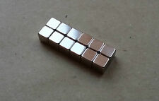 10 Strong Magnets - 5mm Cube - Neodymium  Magnetic
