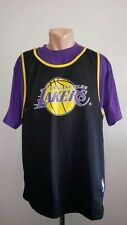 Jacket Los Angeles Lakers Sz L Basketball Jersey Starter NBA Shirt Combo Vintage