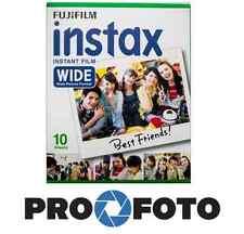 Fujifilm instax wide film 1x10p. pour caméras fuji 100 200 210 300 500af lomo