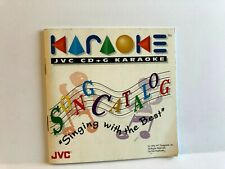 Karoake Singing With The Best JVC CD MANUAL ONLY Authentic Insert